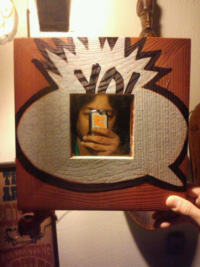 #YO! #based artwork mirror #tybg